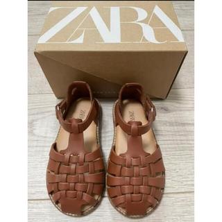 ZARA KIDS - 美品 ZARA キッズ サンダル ザラ 13.5cm