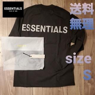 フィアオブゴッド(FEAR OF GOD)のfog essentials long sleeve tee size s(Tシャツ(長袖/七分))