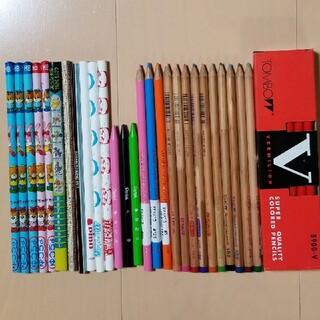 筆記用具セット(赤鉛筆1ダース・色鉛筆・鉛筆・ペンテル等)