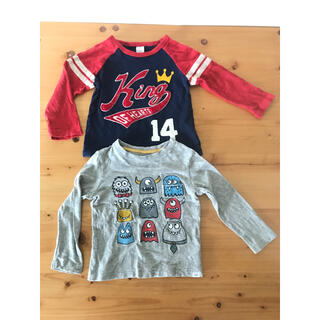 ギャップキッズ(GAP Kids)のGAP  ロンT セット 2years 95cm(Tシャツ/カットソー)