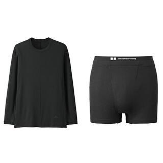 ユニクロ(UNIQLO)のUNIQLO and alexanderwang ヒートテックTシャツ&ボクサー(その他)