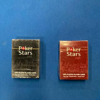 poker stars トランプ赤×1 黒×1(トランプ/UNO)