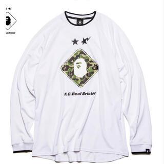 エフシーアールビー(F.C.R.B.)のFCRB x BAPE ロングスリーブ Tシャツ(Tシャツ(長袖/七分))