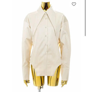 マルタンマルジェラ(Maison Martin Margiela)のJOHN Oversized Pointy Collar Shirt Cream(シャツ/ブラウス(長袖/七分))
