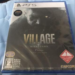 PS5 バイオハザード ヴィレッジ Zバージョン(家庭用ゲームソフト)
