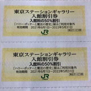 ジェイアール(JR)の東京ステーションギャラリー50%割引券(美術館/博物館)