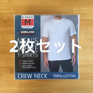 コストコ(コストコ)の【新品・送料込み】カークランド メンズクルーネックTシャツ M [2枚セット](Tシャツ/カットソー(半袖/袖なし))