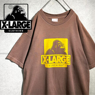 エクストララージ(XLARGE)のXLARGE エクストララージ USA製 デカロゴ ビッグシルエット Tシャツ(Tシャツ/カットソー(半袖/袖なし))
