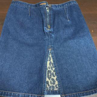 ヒステリックグラマー(HYSTERIC GLAMOUR)のヒステリックグラマーデニムミニタイトスカート(ひざ丈スカート)
