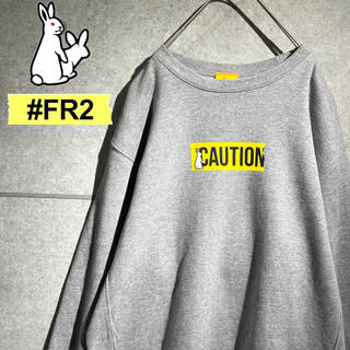 FR2 エフアールツー 美品 ロゴ プリント オーバーサイズ スウェット(スウェット)