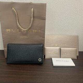 【正規品・美品】BVLGARI ブルガリ  財布 長財布 札入れ