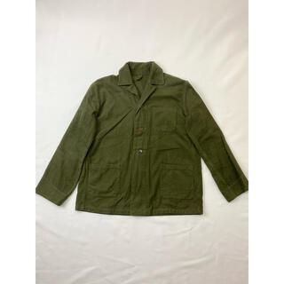 コモリ(COMOLI)のオランダ軍1959年フランネルスリーピングシャツ★M47M65ミリタリー(シャツ)