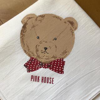 PINK HOUSE - ピンクハウス くまちゃんのクロス 白色