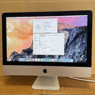 アップル(Apple)のApple iMac 21.5インチ Late2013 CORE i7 SSD(デスクトップ型PC)