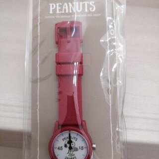 スヌーピー(SNOOPY)の腕時計☆スヌーピー☆2900円+税☆電池切れのため出品☆ラバーベルト(腕時計)