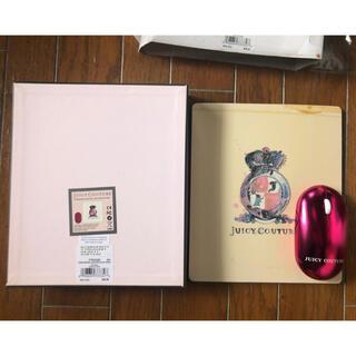 【難あり】レア品❗️Jucy Couture マウス&マウスパッド