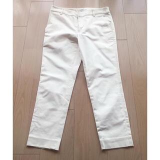 IENA - 美品!IENAのクロップドパンツ/白パンツ