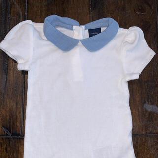 babyGAP - babyGAP襟付き半袖Tシャツ80サイズ