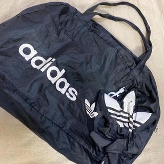 アディダス(adidas)のadidas アディダス ナイロン ボストンバッグ エコバッグ(ボストンバッグ)