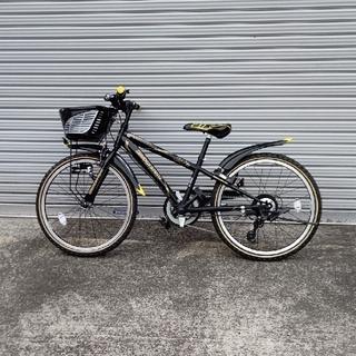 ブリヂストン(BRIDGESTONE)の子供自転車 22インチ(自転車)