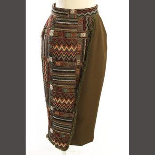 アメリヴィンテージ(Ameri VINTAGE)のアメリビンテージ Ameri VINTAGE  スカート 18AW ゴブラン タ(ひざ丈スカート)