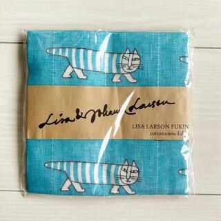 リサラーソン(Lisa Larson)のLISA LARSON リサラーソン ふきん マイキー ブルー キッチン 日用品(収納/キッチン雑貨)