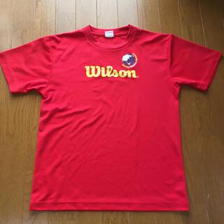 ウィルソン(wilson)のウィルソンスモールTシャツ(バドミントン)