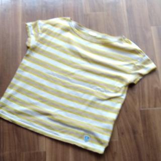 オーシバル(ORCIVAL)のORCIVAL  黄色 ボーダートップス(カットソー(半袖/袖なし))