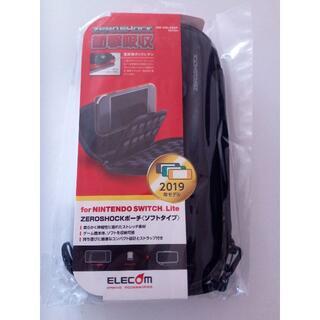 エレコム(ELECOM)のNintendo Switch Lite ケース GM-NSLZSSP ブラック(その他)