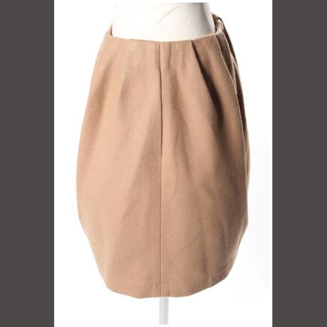 Aveniretoile(アベニールエトワール)のアベニールエトワール Aveniretoile ウール混 タック スカート /a レディースのスカート(ミニスカート)の商品写真