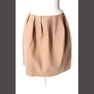 アベニールエトワール(Aveniretoile)のアベニールエトワール Aveniretoile ウール混 タック スカート /a(ミニスカート)