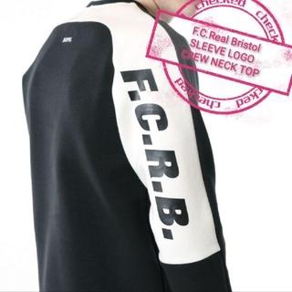 F.C.R.B. - 【Mサイズ】 ブリストル  スリーブロゴネッククルー