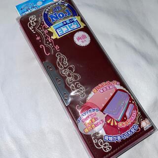 サンスター(SUNSTAR)の【新品】ヨコピタ コンパクトふでいれ ブラウン&ピンク(ペンケース/筆箱)