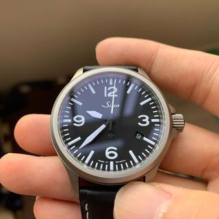 シン(SINN)のSinn ジン 856 純正バルト (バタフライ式バックル)(腕時計(アナログ))