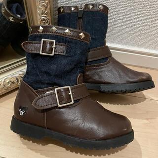 ダブルビー(DOUBLE.B)のダブルビー ブーツ 16cm(ブーツ)
