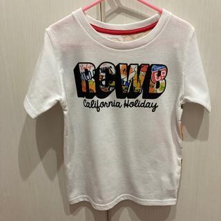 ロデオクラウンズワイドボウル(RODEO CROWNS WIDE BOWL)のロデオクラウンズワイドボウルバックプリントTシャツキッズLサイズ(Tシャツ/カットソー)