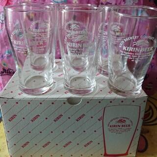キリン(キリン)の新品 未使用 KIRIN キリンビール ガラスコップ グラス(グラス/カップ)