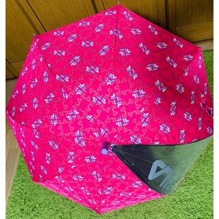 フィラ(FILA)のFILA   kids 長傘 プッシュ式 ピンク 55㎝(傘)
