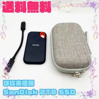 サンディスク(SanDisk)の【ほぼ未使用/A】SanDisk USB3.1 Gen2 PortableSSD(PC周辺機器)