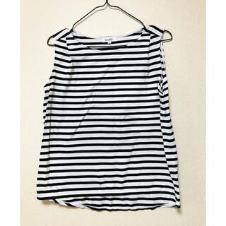 プラステ(PLST)のノースリーブTシャツ(Tシャツ(半袖/袖なし))