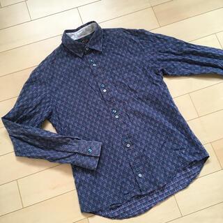 ミッシェルクラン(MICHEL KLEIN)のミッシェルクラン  紺色シャツ  (シャツ)
