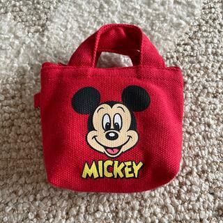 ミッキーマウス(ミッキーマウス)のしまむら ミッキー ポーチ(ポーチ)