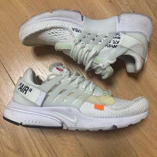 オフホワイト(OFF-WHITE)のoff white x nike air presto(スニーカー)