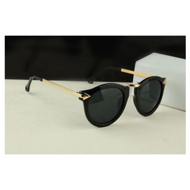 三代目 JSB EXILE 登坂広臣 着用タイプ おしゃれ ブラック ゴールド メンズのファッション小物(サングラス/メガネ)の商品写真