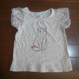 ユニカ(UNICA)のユニカ 半袖 Tシャツ ネコ 100 UNICA(Tシャツ/カットソー)
