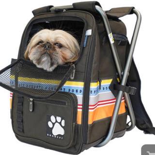 ドッグデプト(DOG DEPT)のDog dept ispac キャリーリュック 美品◡̈*.。(犬)