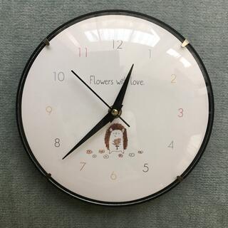 スリーコインズ(3COINS)の掛け時計 シンプルハリネズミ (掛時計/柱時計)