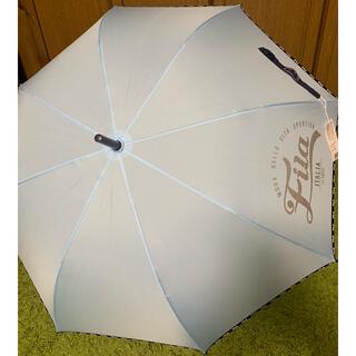 フィラ(FILA)のFILA   長傘 プッシュ式 水色 58㎝(傘)