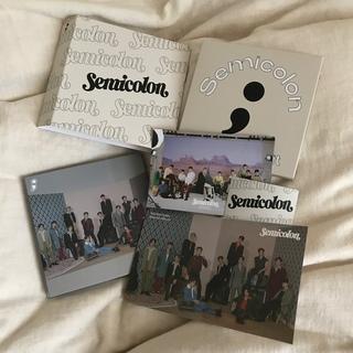 セブンティーン(SEVENTEEN)のSEVENTEEN セブンティーン semicolon セミコロン(K-POP/アジア)