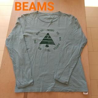 ビームスボーイ(BEAMS BOY)のBEAMS BOY グリーン系カットソー (Tシャツ/カットソー)